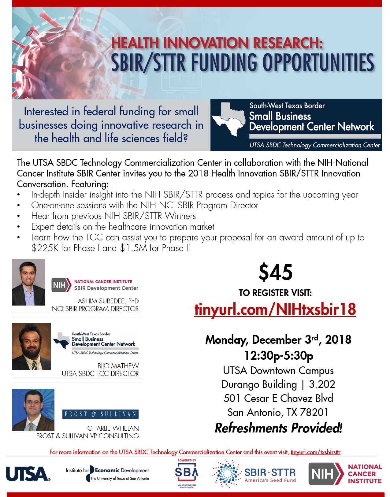 SBIR STTR Health Innovation Research Conversations